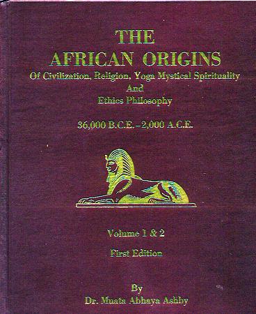 Book African Origins Hardbound B