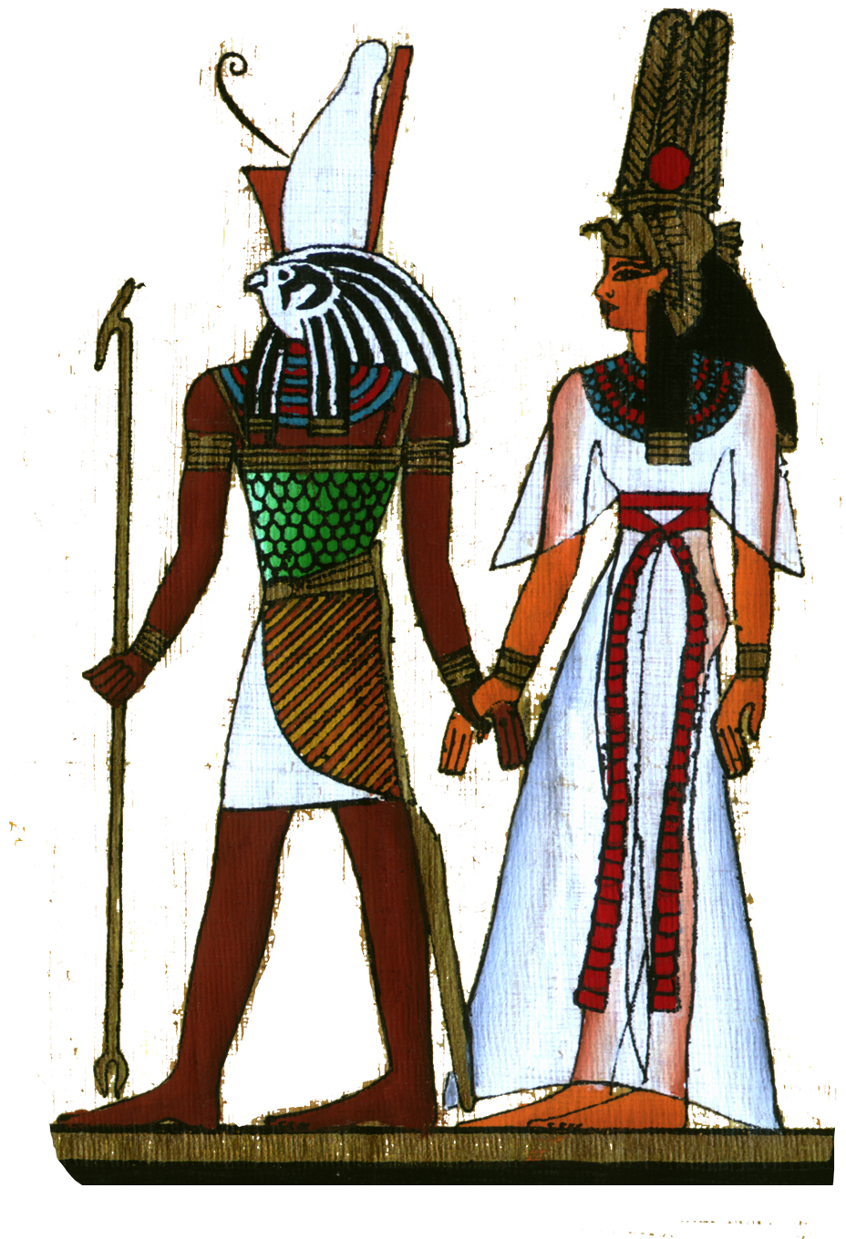 Heru leading female initiate2