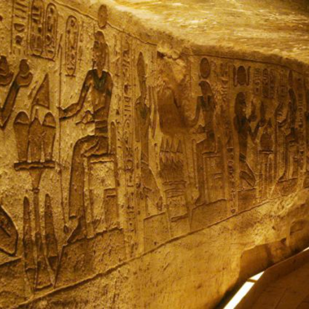 Ramesses-II-Temple-Touring--Aswan--Egypt Abu Simbel making offerings to higher self