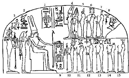 Company of gods and goddesses of Amun