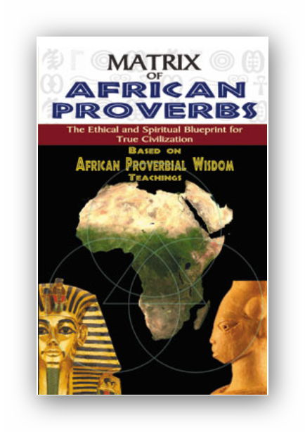 Book cover Matrix of African Proverbs