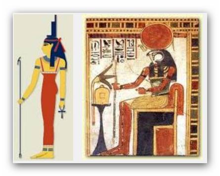 Isis and Ra Aset