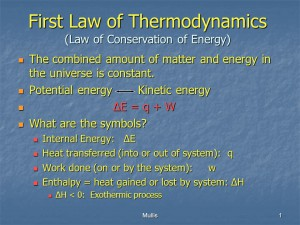 first-law-of-thermodynamics