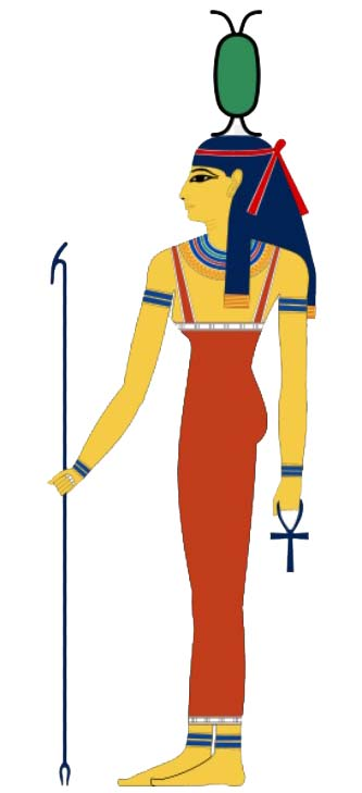 goddess neith -Net - Anet color